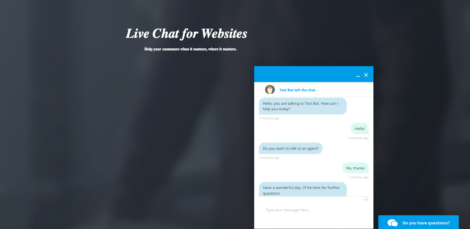 Free Live Chat Software for Website and Mobile Support